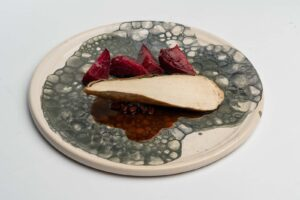 Master Class Τεχνικές Sous Vide Φιλέτο Κοτόπουλο με Τρούφα και σάλτσα από σαλάμι αέρος Λευκάδας